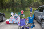 Bastien's Mountain Biking, Tailgating 8th Birthday Party