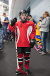 Big Day Part 2: Bastien's First Real Hockey Game
