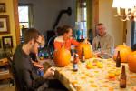 Big Day Part 3: Pumpkin Carving