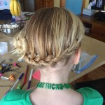 St. Patrick's Day Party Hair