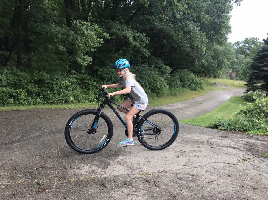 Hadley's New Ride