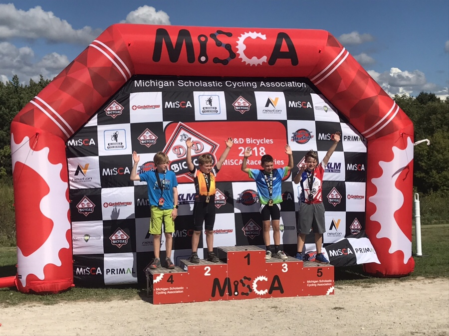 Bastien's epic MiSCA MTB Race – Lake Orion, September 2018
